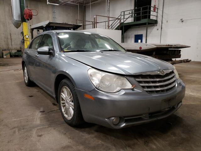 Salvage cars for sale from Copart Blaine, MN: 2008 Chrysler Sebring LI