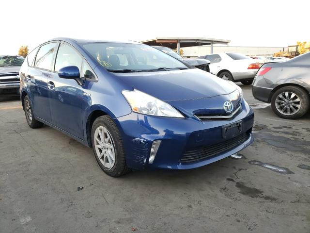 Salvage cars for sale from Copart Hayward, CA: 2013 Toyota Prius V