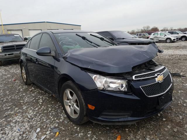 Salvage cars for sale from Copart Alorton, IL: 2014 Chevrolet Cruze LT