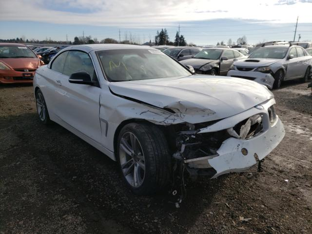 BMW 428 I Sulev salvage cars for sale: 2014 BMW 428 I Sulev
