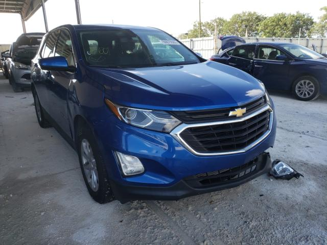 Salvage cars for sale from Copart Homestead, FL: 2019 Chevrolet Equinox LT