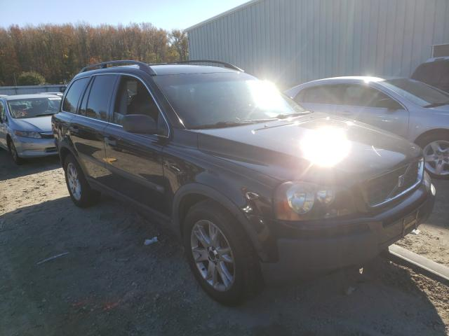Salvage cars for sale from Copart Hampton, VA: 2004 Volvo XC90 T6