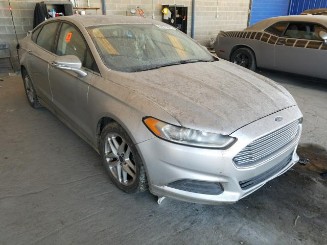 Salvage cars for sale from Copart Cartersville, GA: 2014 Ford Fusion SE