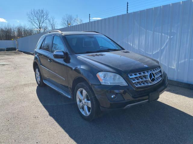 Mercedes-Benz ML 350 salvage cars for sale: 2009 Mercedes-Benz ML 350