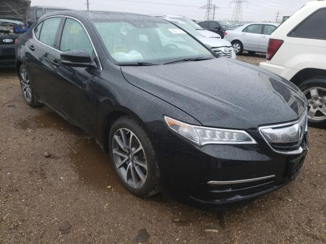 Acura TLX Tech Vehiculos salvage en venta: 2016 Acura TLX Tech