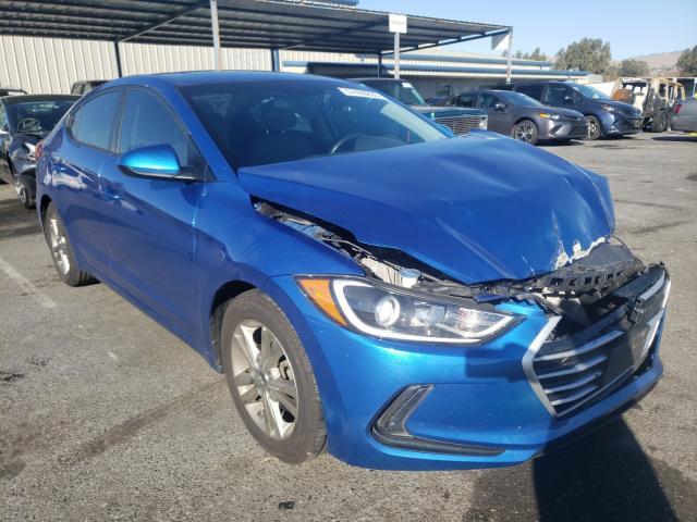 Salvage cars for sale from Copart San Martin, CA: 2018 Hyundai Elantra SE