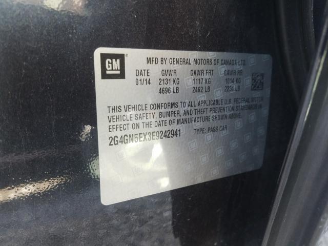 2G4GN5EX3E9242941 2014 Buick Regal Prem 2.0L