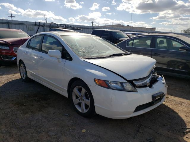 Salvage cars for sale from Copart Mercedes, TX: 2006 Honda Civic EX