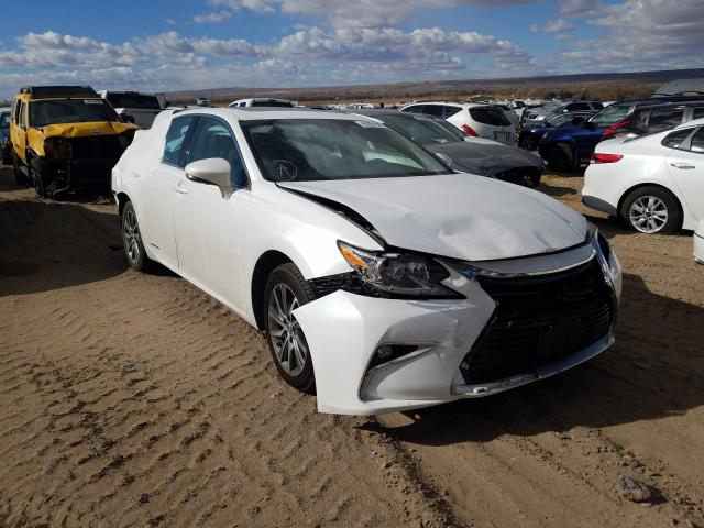 Salvage cars for sale from Copart Albuquerque, NM: 2016 Lexus ES 300H