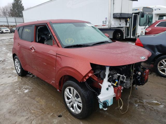 Salvage cars for sale from Copart Avon, MN: 2021 KIA Soul LX