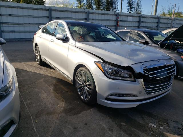 Genesis salvage cars for sale: 2017 Genesis G80 Ultima