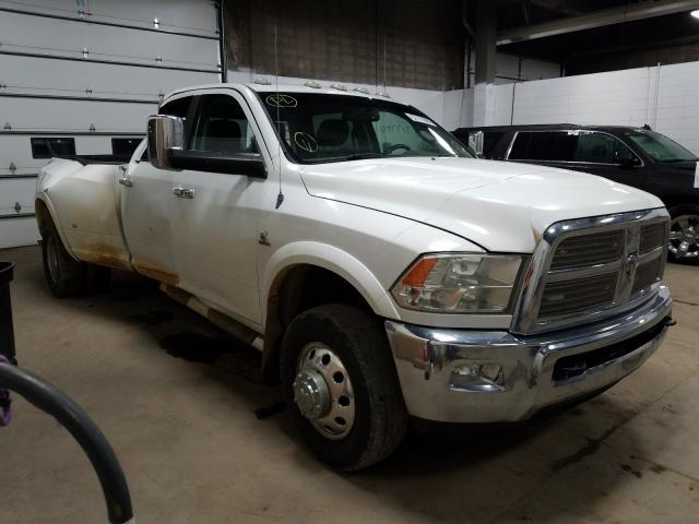 Dodge RAM 3500 L salvage cars for sale: 2012 Dodge RAM 3500 L