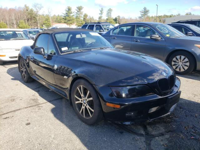 Salvage cars for sale from Copart Exeter, RI: 2000 BMW Z3 2.8