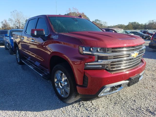 Salvage cars for sale at Theodore, AL auction: 2019 Chevrolet Silverado