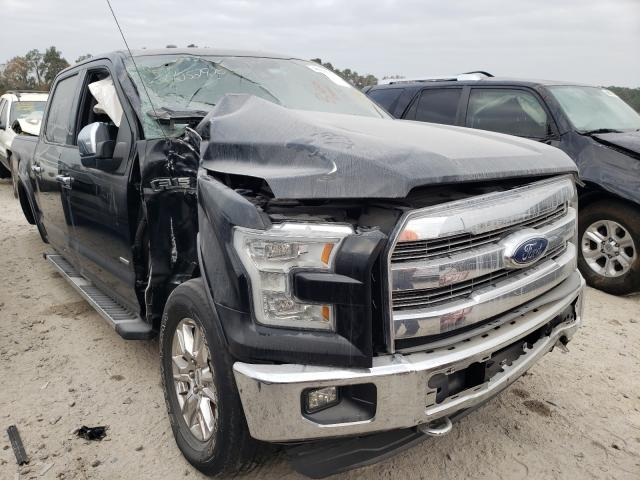 Salvage cars for sale from Copart Houston, TX: 2015 Ford F150 Super