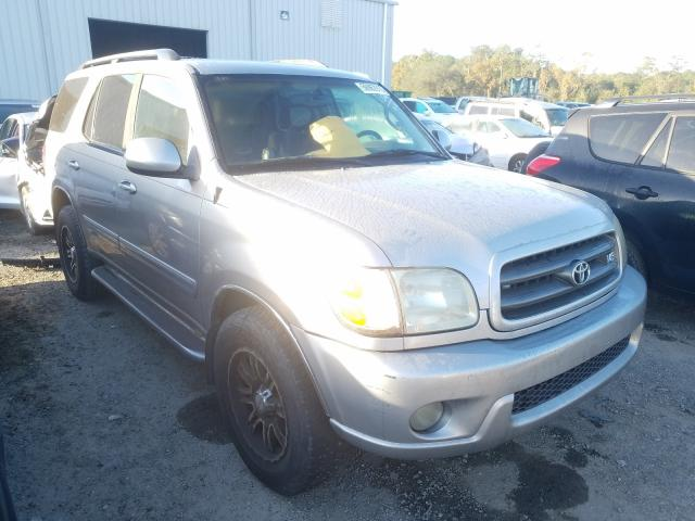 Salvage cars for sale from Copart Jacksonville, FL: 2003 Toyota Sequoia SR