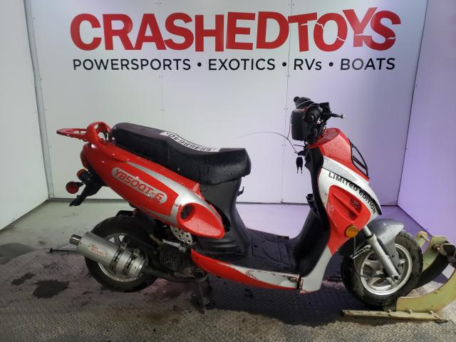 Salvage cars for sale from Copart Kansas City, KS: 2016 Yiben Scooter