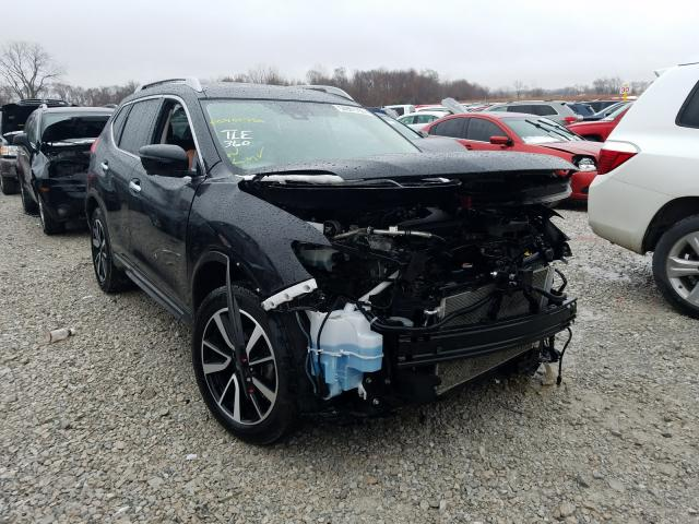 Salvage cars for sale from Copart Des Moines, IA: 2017 Nissan Rogue SV