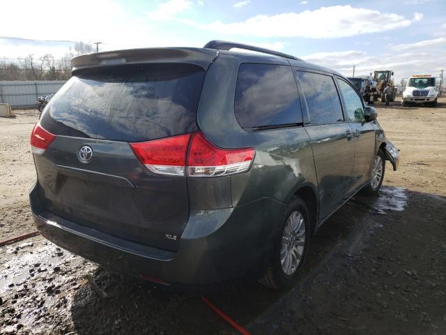 цена в сша 2013 Toyota Sienna Xle 3.5L 5TDYK3DC8DS368013