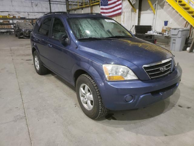 Salvage cars for sale from Copart Reno, NV: 2008 KIA Sorento EX