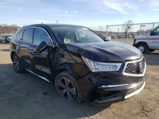 Salvage cars for sale from Copart Baltimore, MD: 2017 Acura MDX