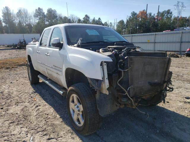 Salvage cars for sale from Copart Charles City, VA: 2013 GMC Sierra K25