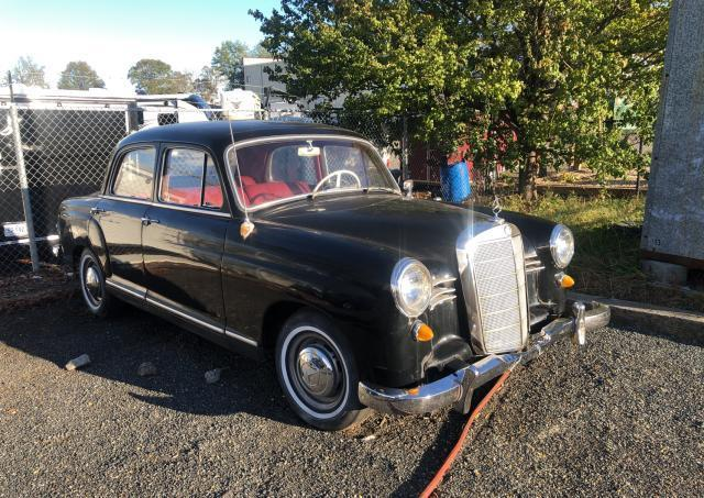 Mercedes-Benz 190 salvage cars for sale: 1959 Mercedes-Benz 190