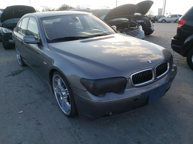 Salvage cars for sale from Copart Lebanon, TN: 2004 BMW 745 I