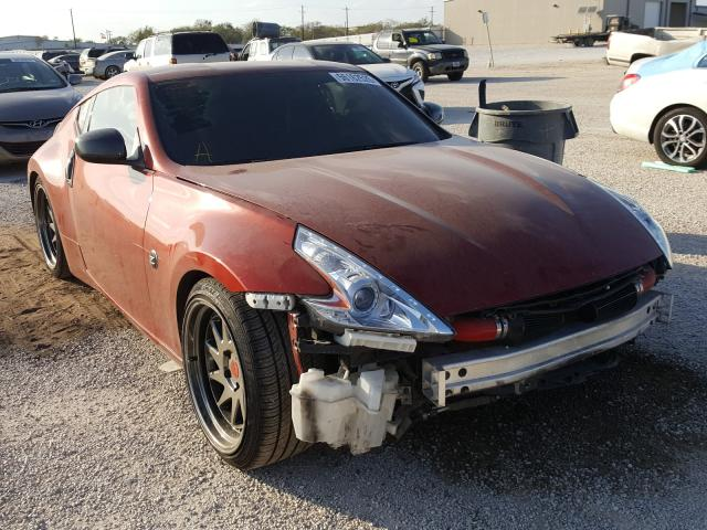 Salvage cars for sale from Copart San Antonio, TX: 2016 Nissan 370Z Base