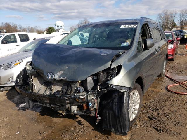 из сша 2013 Toyota Sienna Xle 3.5L 5TDYK3DC8DS368013