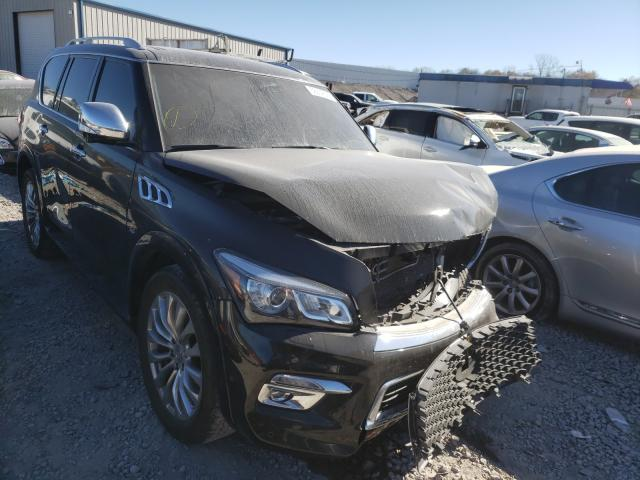 Salvage cars for sale from Copart Hueytown, AL: 2017 Infiniti QX80 Base