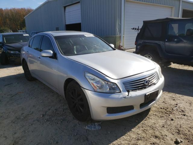 Salvage cars for sale from Copart Hampton, VA: 2008 Infiniti G35