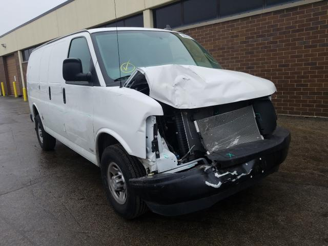 Chevrolet Express salvage cars for sale: 2020 Chevrolet Express