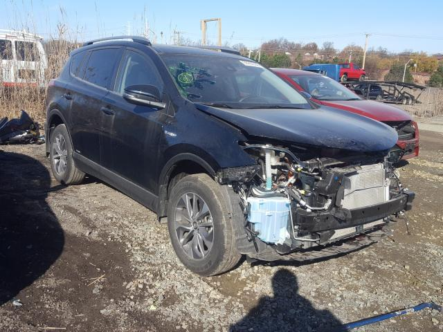 Salvage cars for sale from Copart Baltimore, MD: 2018 Toyota Rav4 HV LE