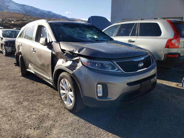 KIA salvage cars for sale: 2015 KIA Sorento EX