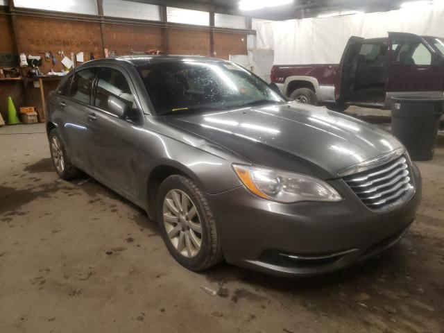 Salvage cars for sale from Copart Ebensburg, PA: 2012 Chrysler 200 Touring