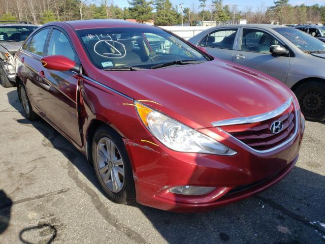 Salvage cars for sale from Copart Exeter, RI: 2013 Hyundai Sonata GLS