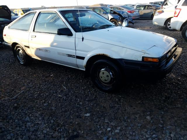 Salvage cars for sale from Copart Magna, UT: 1985 Toyota Corolla SP