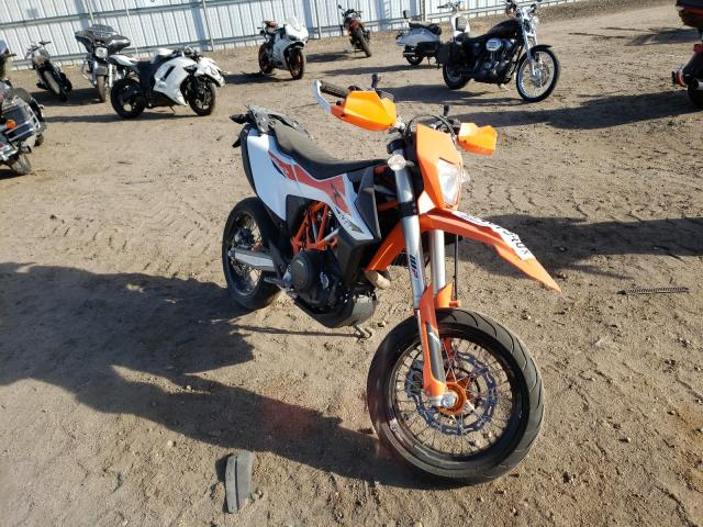 Salvage cars for sale from Copart Brighton, CO: 2020 KTM 690 Enduro
