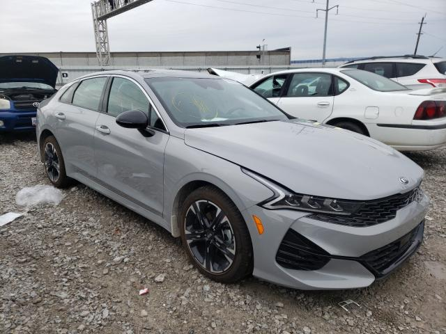 Salvage cars for sale from Copart Columbus, OH: 2021 KIA K5 GT Line