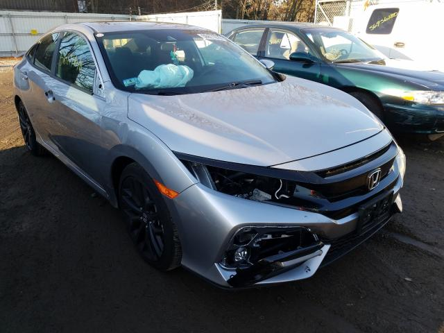 Vehiculos salvage en venta de Copart North Billerica, MA: 2020 Honda Civic SI