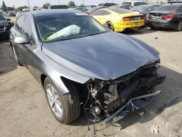 Salvage cars for sale from Copart Los Angeles, CA: 2017 Infiniti Q50 Premium