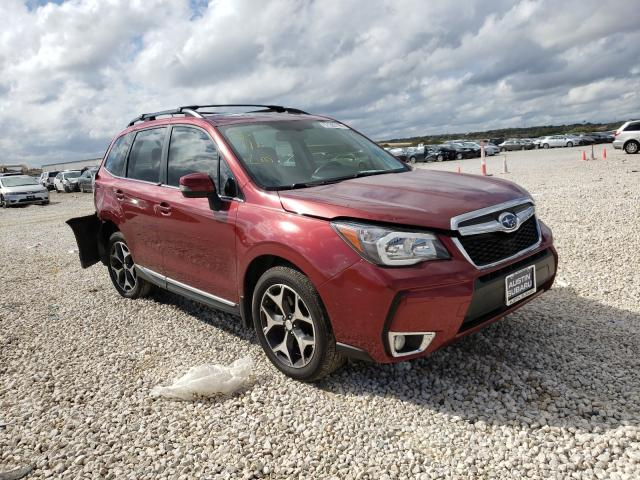 Salvage cars for sale from Copart New Braunfels, TX: 2015 Subaru Forester 2
