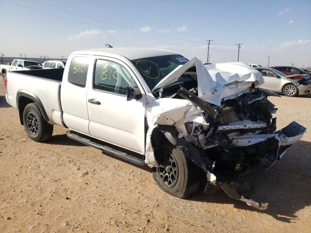 Salvage cars for sale from Copart Andrews, TX: 2019 Toyota Tacoma ACC