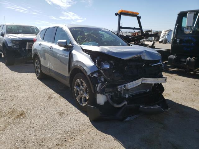 Salvage cars for sale from Copart Tucson, AZ: 2019 Honda CR-V EXL