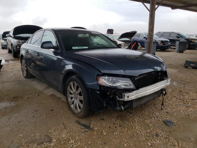 Salvage cars for sale from Copart Temple, TX: 2009 Audi A4 Premium