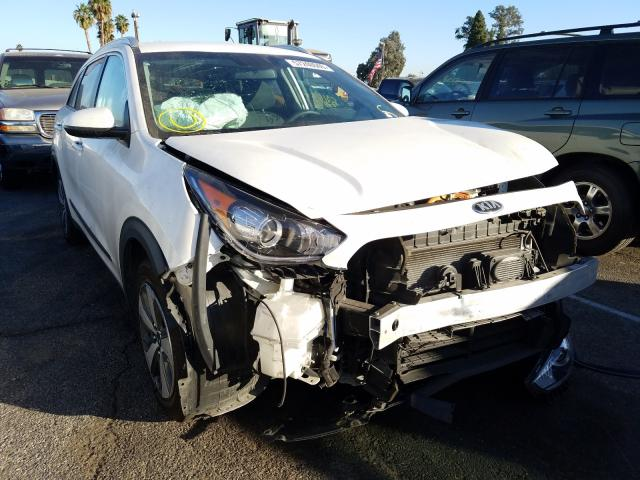 Salvage cars for sale from Copart Van Nuys, CA: 2018 KIA Niro FE
