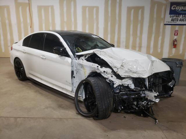 BMW salvage cars for sale: 2020 BMW M5 Base