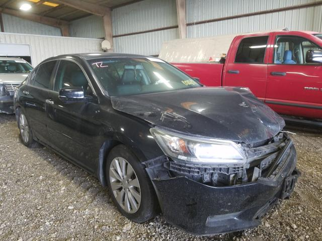Salvage cars for sale from Copart Houston, TX: 2015 Honda Accord EXL