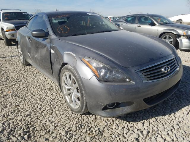 Salvage cars for sale from Copart Kansas City, KS: 2014 Infiniti Q60 Base